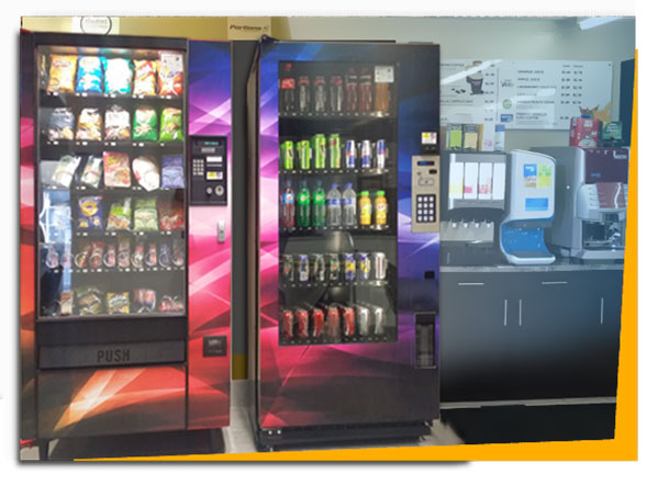 Service with a smile vending machines