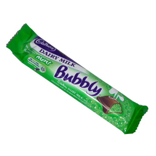 Cadbury-Bubbly Mint-40g